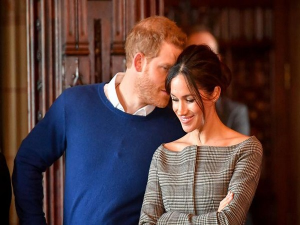 Prince Harry and Meghan (File pic)