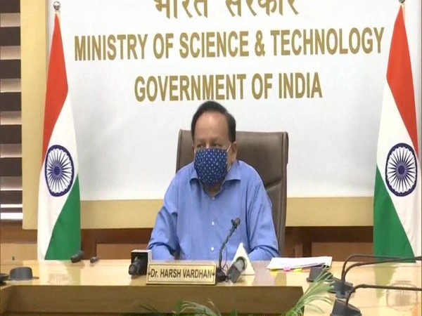 Union Health Minister Dr Harsh Vardhan in New Delhi on Tuesday. Photo/ANI