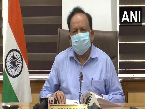Union Health and Family Welfare Minister Dr Harsh Vardhan. [Photo/ANI]