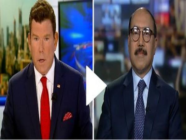 India Ambassador to the US, Harsh Vardhan Shringla speaking to Bret Baier of Fox News on Monday