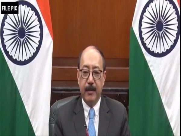 Foreign Secretary Harsh Vardhan Shringla (File photo/ANI)