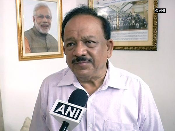 Union Environment Minister Harsh Vardhan