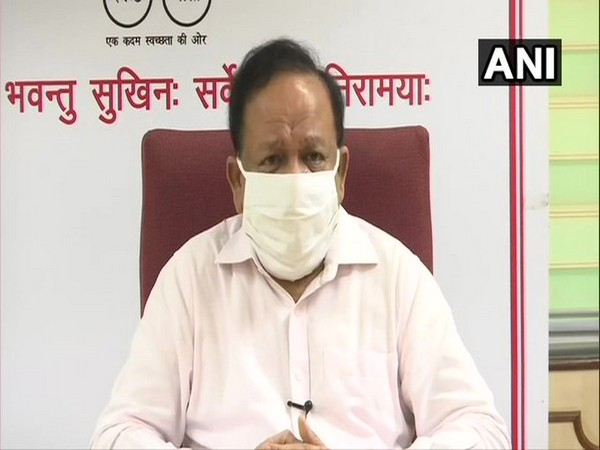 Union Health Minister Dr Harsh Vardhan. (File Photo/ANI)