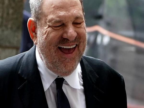 Harvey Weinstein arrives for a court hearing
