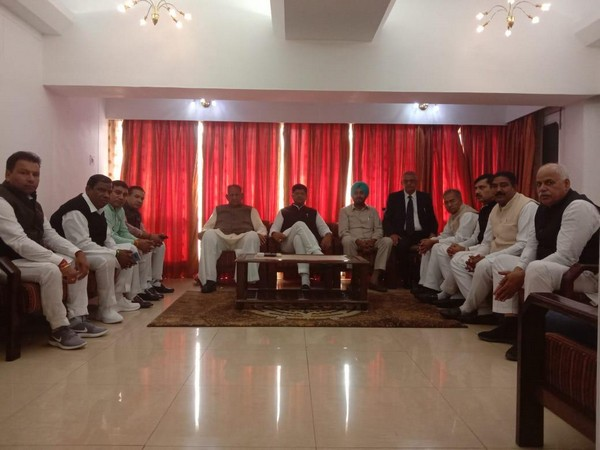 Haryana Deputy Chief Minister Dushyant Chautala held a meeting of party legislators ahead of cabinet expansion on Thursday.
