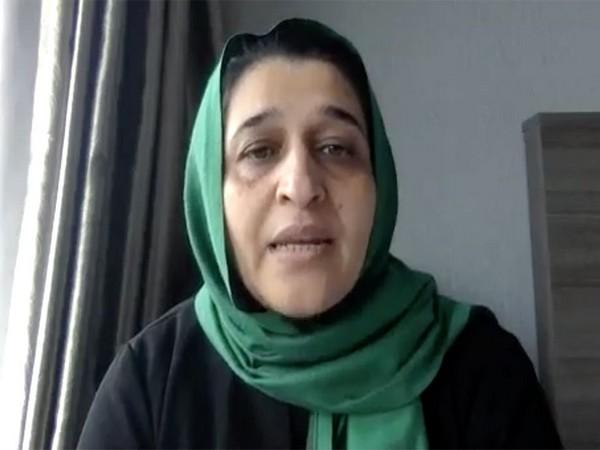 Hasina Safi. Photo: UN Women, screengrab