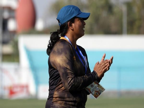 Indian women's football team head coach Maymol Rocky (Photo/ AIFF)
