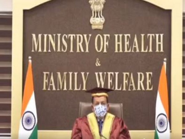 Union Health Minister Harsh Vardhan addressing the 99th Convocation Ceremony of the prestigious Lady Hardinge Medical College, Delhi.