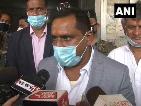 Jharkhand Health Minister Banna Gupta talking to media over the issue of COVID-19 vaccine on Saturday. (Photo/ANI)