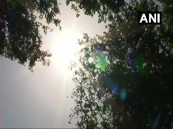 Heatwave conditions persist in Delhi, temp touches 46.2 degrees. Photo/ANI