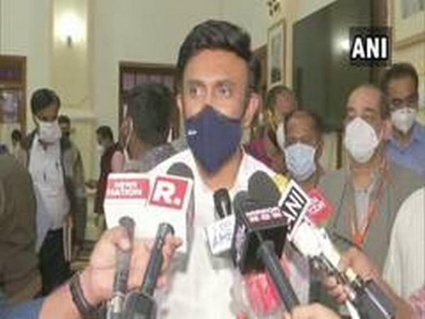 Karnataka Health Minister Dr Sudhakar (File pic)