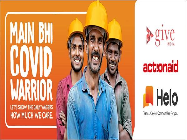 Helo - MainBhiMainBhiCOVIDWarrior campaign