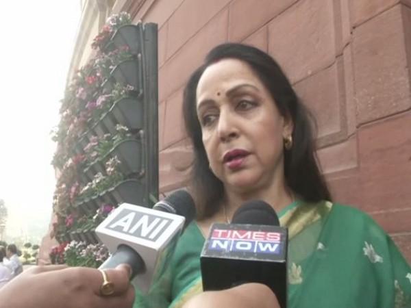 BJP MP Hema Malini (File Photo)
