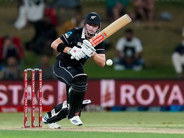 Kiwi batsman Henry Nicholls in action against India (Photo/ BlackCaps Twitter)