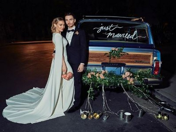 Hilary Duff and Matthew Koma from their wedding