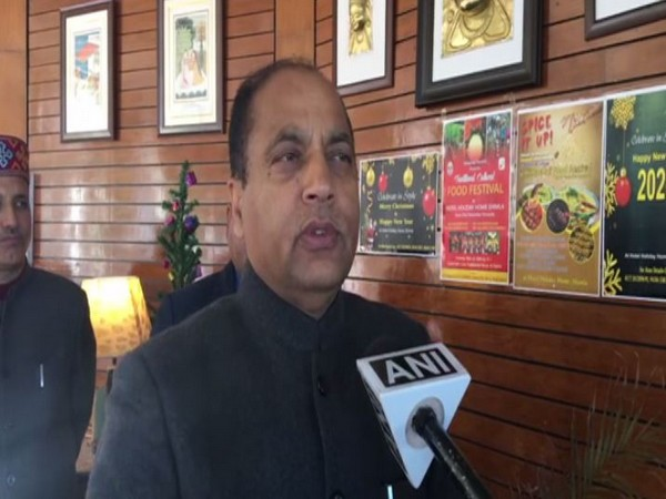 Himachal Pradesh Chief Minister Jai Ram Thakur (File photo/ANI)