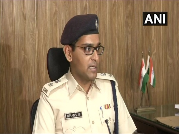 DCP Himanshu Garg speaking to media over the Gurugram incident on Saturday Photo*ANI