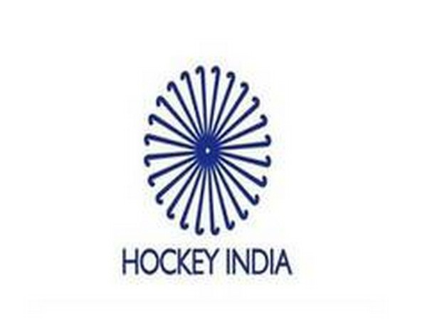 Hockey India logo.
