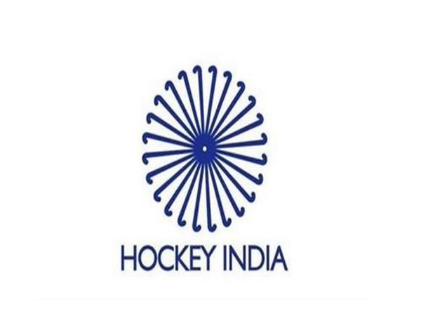 Hockey India logo.
