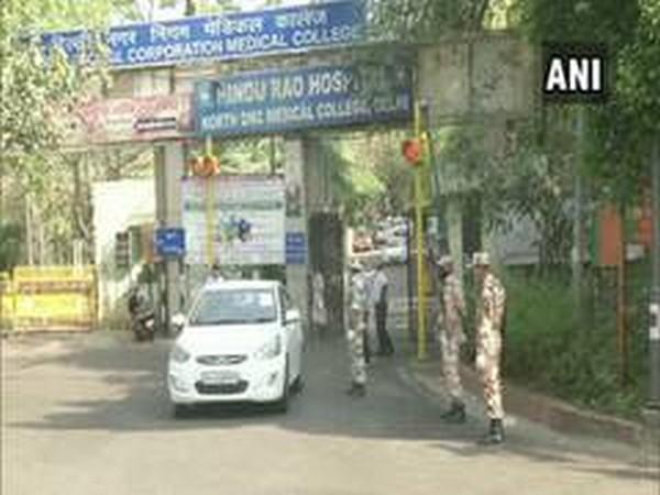 Hindu Rao Hospital (Photo/ANI)