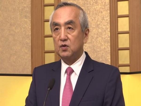 Japan's ambassador to India Kenji Hiramatsu speaking at an event in New Delhi on Wednesday (Photo/ANI)