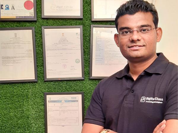 Hitesh Mohkar, Founder and CEO of Digital Class