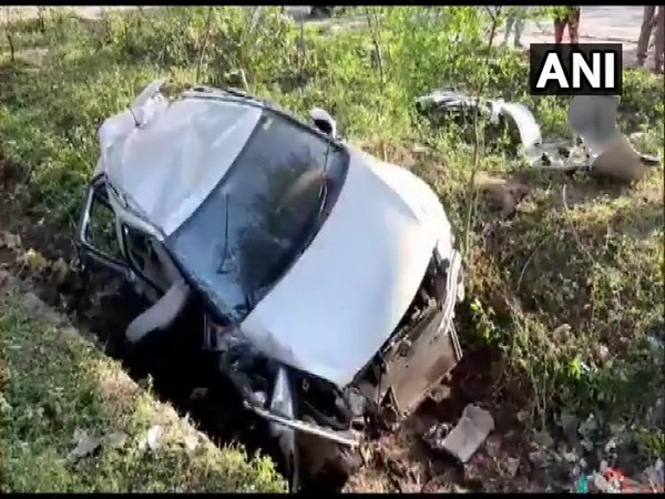 A visual from the accident spot (Photo/ANI)