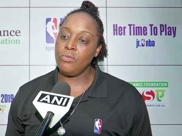 WNBA legend Ebony Hoffman