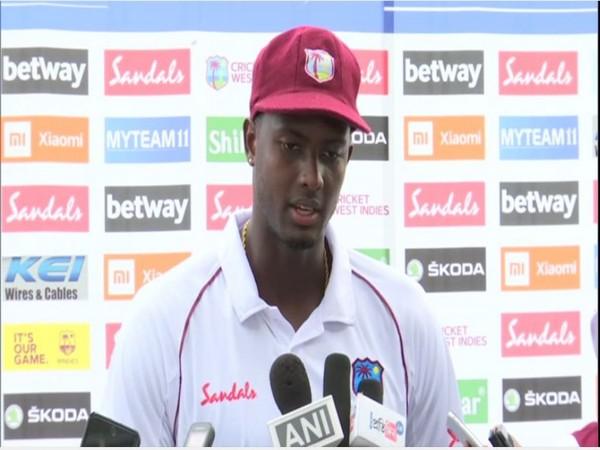 West Indies skipper Jason Holder.