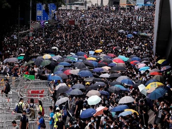 Hong Kong protests (File pic)