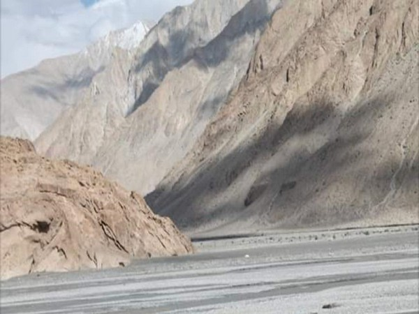 Confluence of Galwan and Shyok river in Eastern Ladakh. (File Photo)