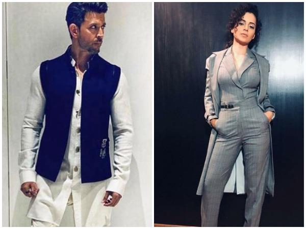 Hrithik Roshan and Kangana Ranaut (Image courtesy: Instagram)