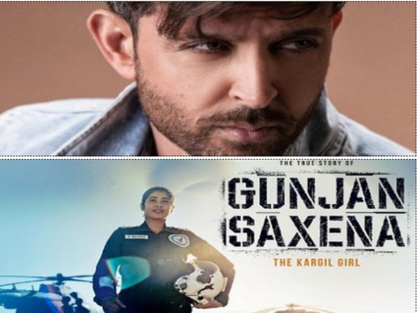 Bollywood actor Hrithik Roshan appreciates the team of 'Gunjan Saxena: The Kargil Girl' (Image source: Instagram)