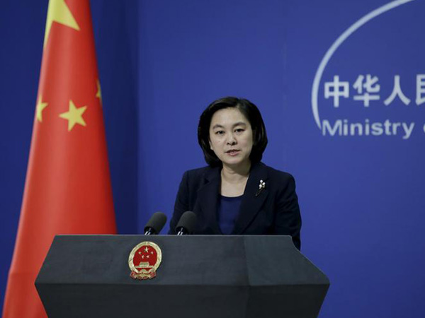Hua Chunying Chinese Foreign Ministry Spokesperson (file photo)
