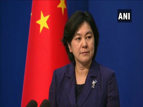 Chinese Foreign Ministry spokesperson Hua Chunying speaking at a press conference in Beijing on Tuesday.