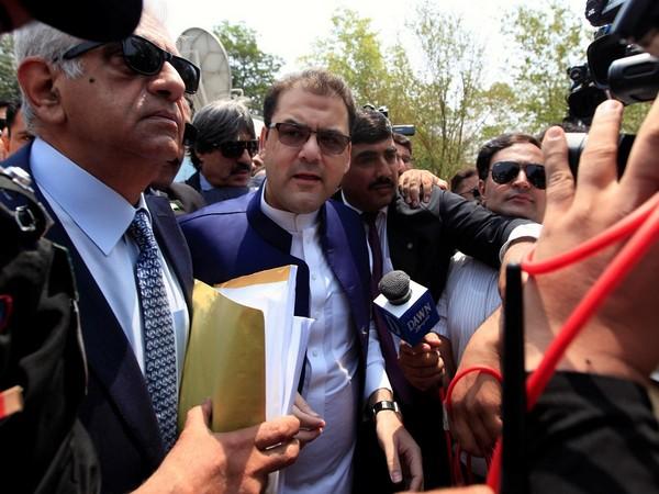 Deposed Prime Minister Nawaz Sharif's son, Hussain Nawaz (Photo Credit - Reuters)