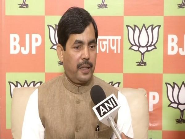 File pic of  BJP national spokesperson Shahnawaz Hussain