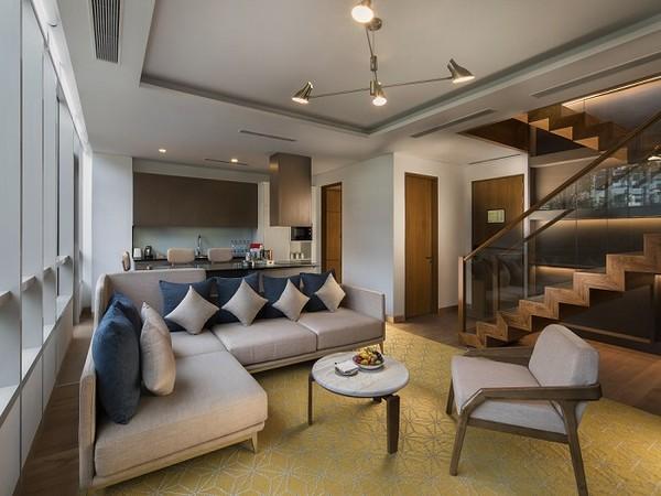 Hyatt Delhi Residences Townhouse Living Room