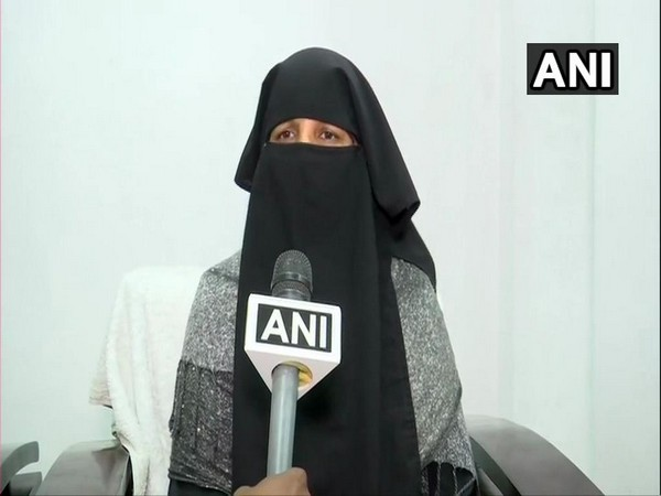 Rehmath Begum, sister of victim Ghousia Begum speaking to ANI in Hyderabad, Telangana.
