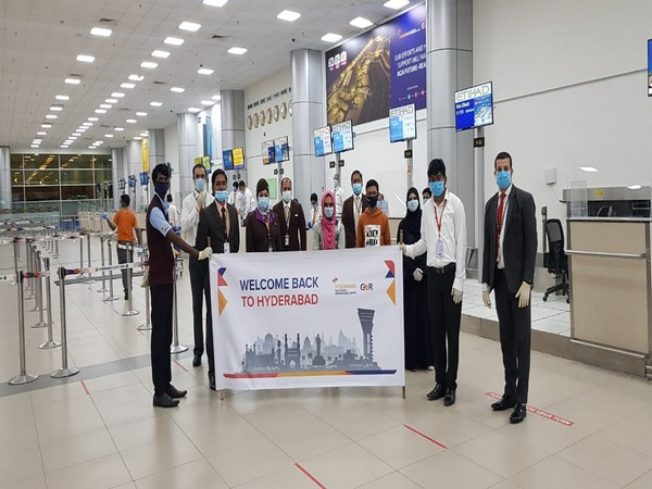 Hyderabad International Airport begins air bubbles to Qatar and the UAE.