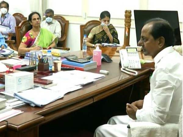 Telangana CM call for qualitative changes in horticulture crops. Photo/ANI