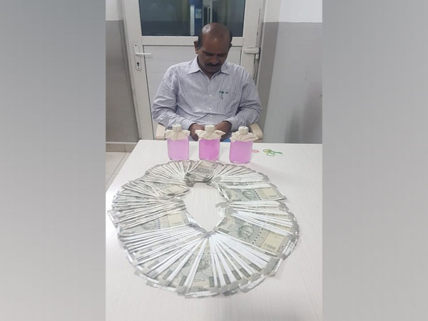 ACB nabs deputy executive engineer for demanding bribe in Hyderabad. Photo/ANI