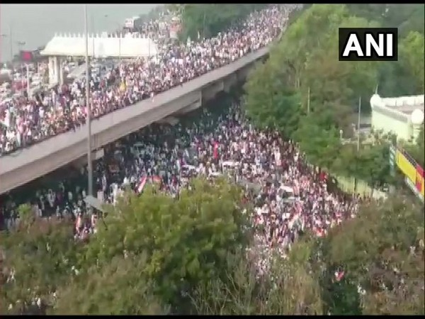 Over 15,000 people participated in Million March in Hyderabad on Saturday.