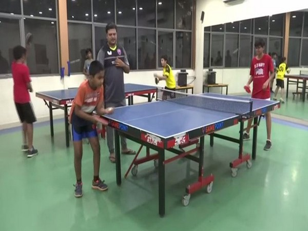 Hyderabad-based multi-sports centre making efforts to inculcate sporting culture among people. Photo/ANI