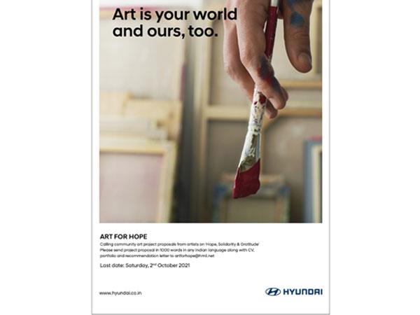 Hyundai Motor India Foundation announces Art for Hope
