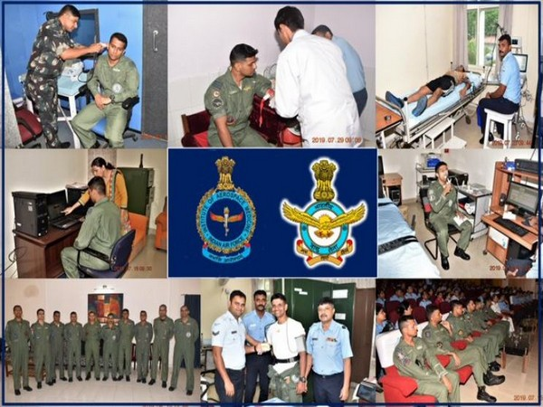 IAF announced completion of Level-1 Selection of Indian Astronauts for Gaganyaan on Friday. Photo/Indian Air Force