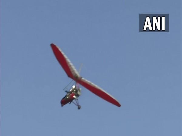 IAF conducted air show at Dal Lake (Photo/ANI)