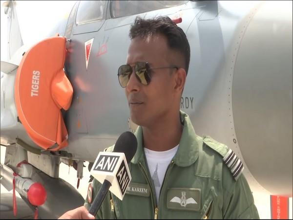 Squadron Leader Kapil Kareem