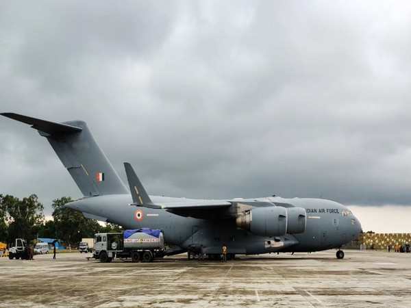 IAF contingent which took part in Exercise Garuda landed back in India on Friday. (Photo by Defence Ministry)