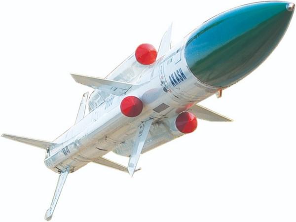 Image of Akash missile. (Photo/ANI)